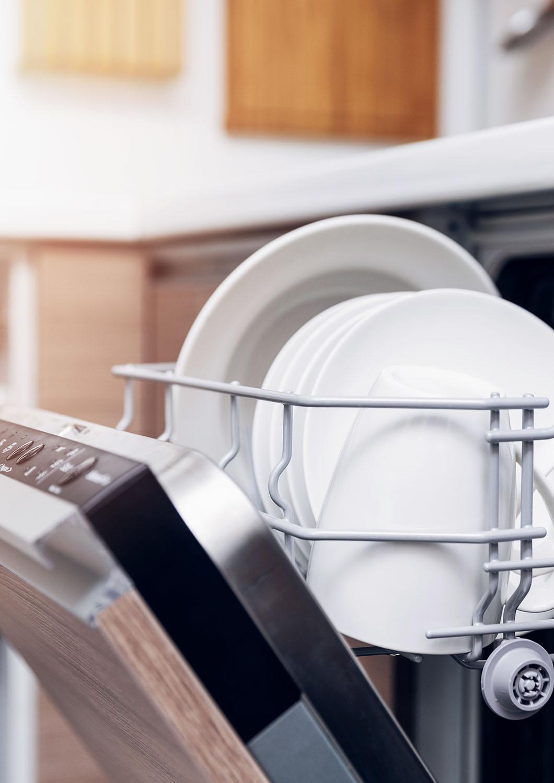 Étape 2 : organiser le chemin de la vaisselle
