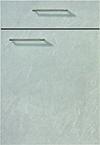 Façade ardoise gris pierre pour la cuisine  par ECOCUISINE