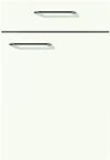 Façade blanc alpin pour la cuisine  par ECOCUISINE