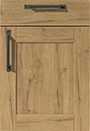 Façade décor chêne sierra pour la cuisine  par ECOCUISINE