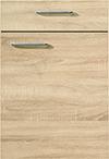 Façade chêne de virginie pour la cuisine  par ECOCUISINE
