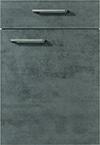 Façade chêne gris ardoise pour la cuisine  par ECOCUISINE