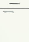 Façade laqué, blanc mat alpin pour la salle de bain Evolution-Bath par ECOCUISINE
