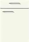 Façade laqué, blanc mat pour la salle de bain Evolution-Bath par ECOCUISINE