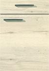 Façade chêne halifax pour la salle de bain Matéria-Bath par ECOCUISINE
