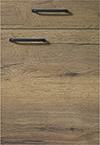 Façade chêne havane pour la salle de bain Matéria-Bath par ECOCUISINE