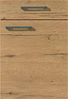 Façade chêne sierra pour la salle de bain Matéria-Bath par ECOCUISINE