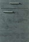 Façade chêne gris ardoise pour la salle de bain Quadra-Bath par ECOCUISINE