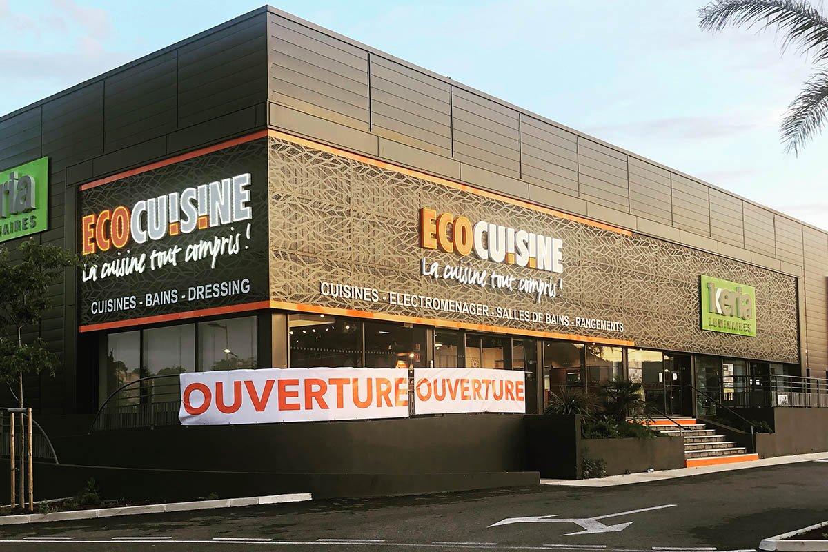 Ouverture du magasin Ecocuisine de Toulon (83)