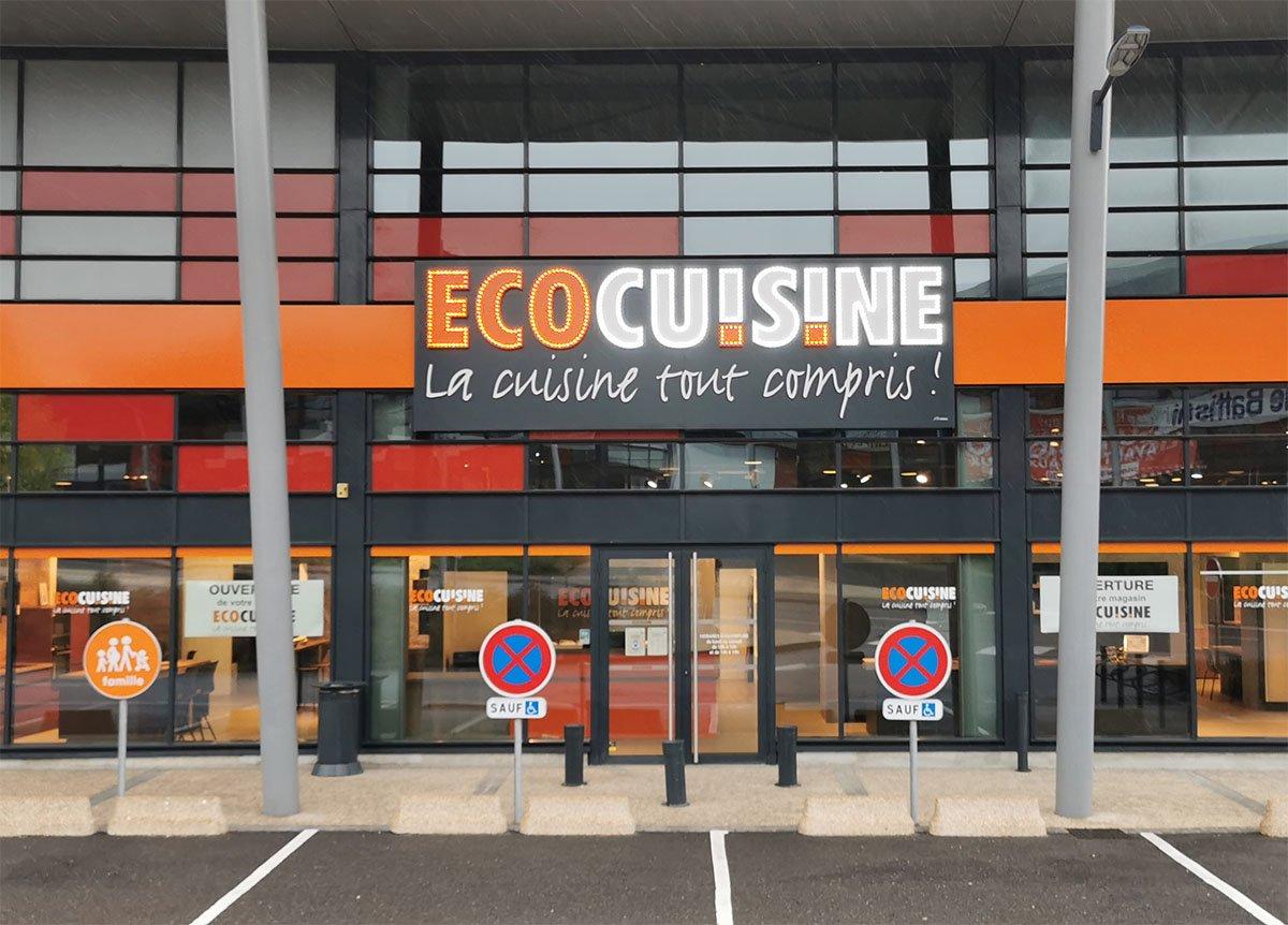 Ouverture du magasin Ecocuisine de Nancy-Houdemont
