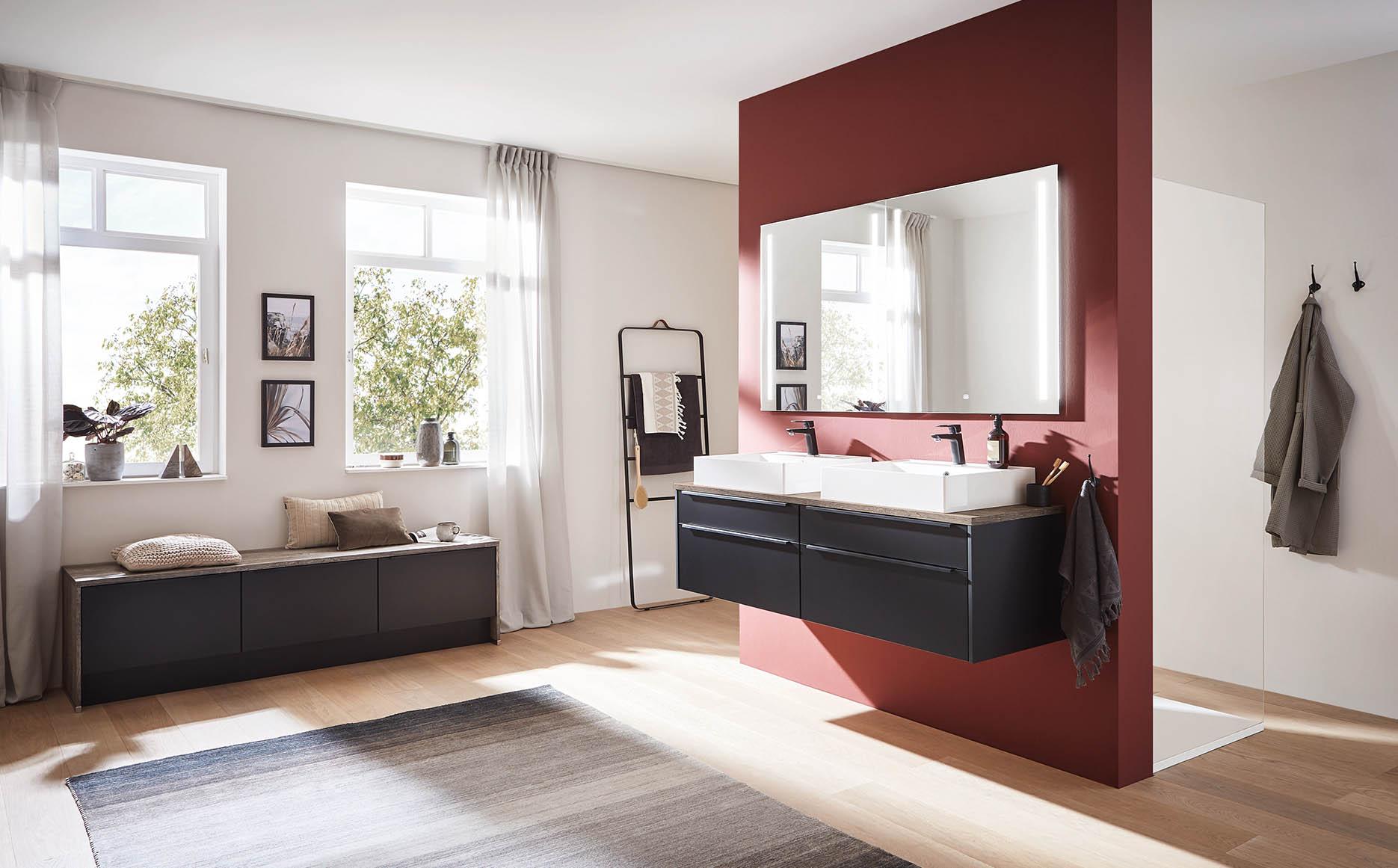 Salle de bain modèle Emotion-Bath par ECOCUISINE