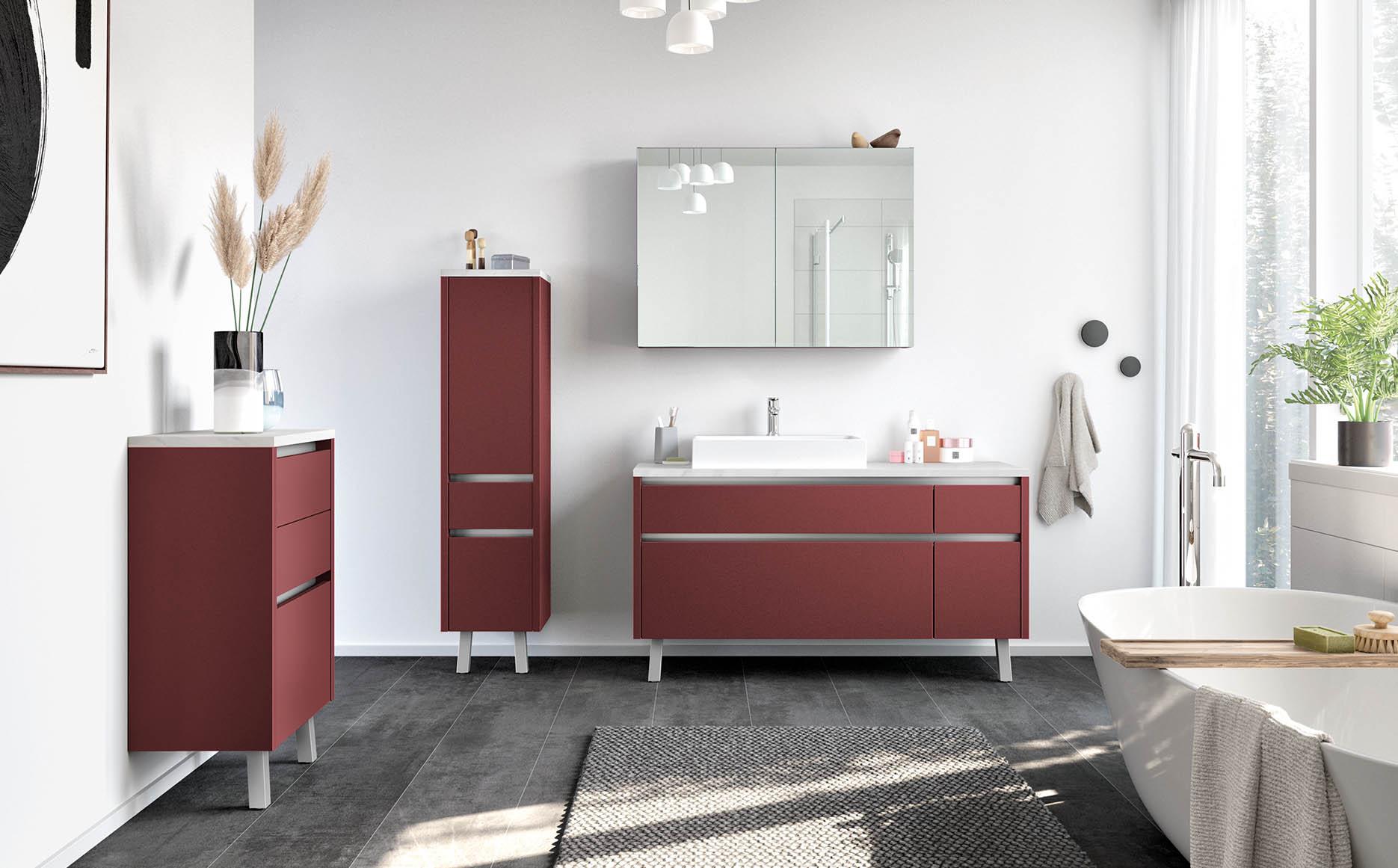 Salle de bain modèle Phenix-Bath par ECOCUISINE