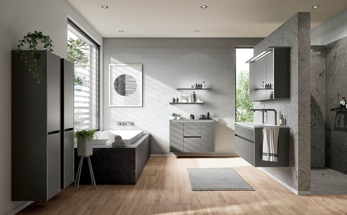 Salle de bain modèle Vision Bath par ECOCUISINE