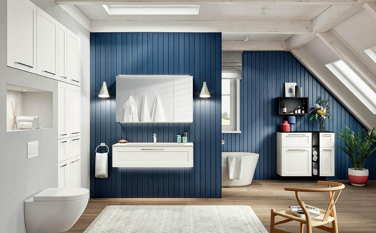 Salle de bain modèle Novia-Bath par ECOCUISINE