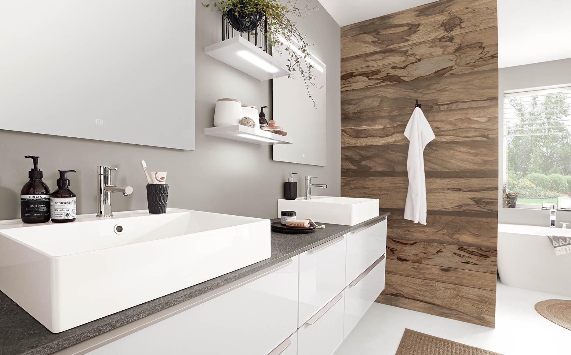 Salle de bain modèle Icône-Bath par ECOCUISINE