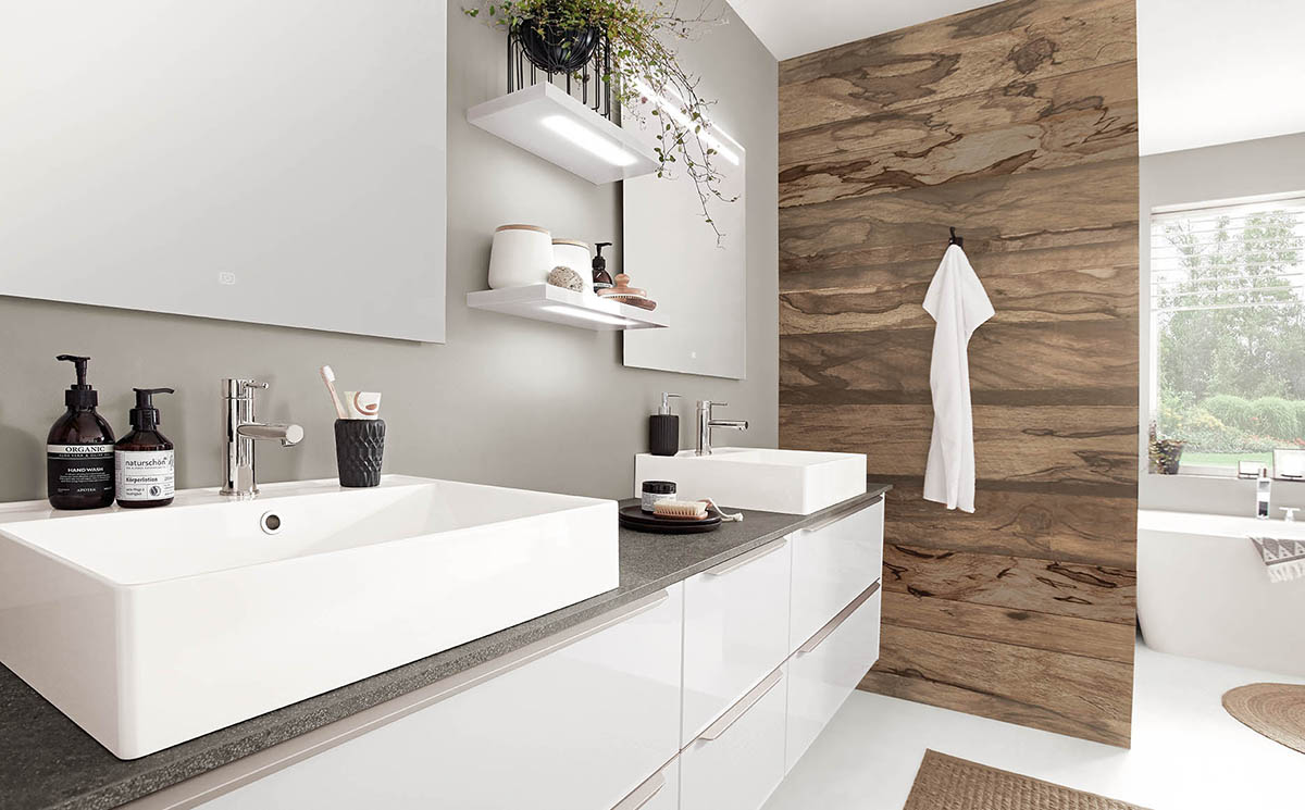 Salle de bain Icône-Bath par ECOCUISINE