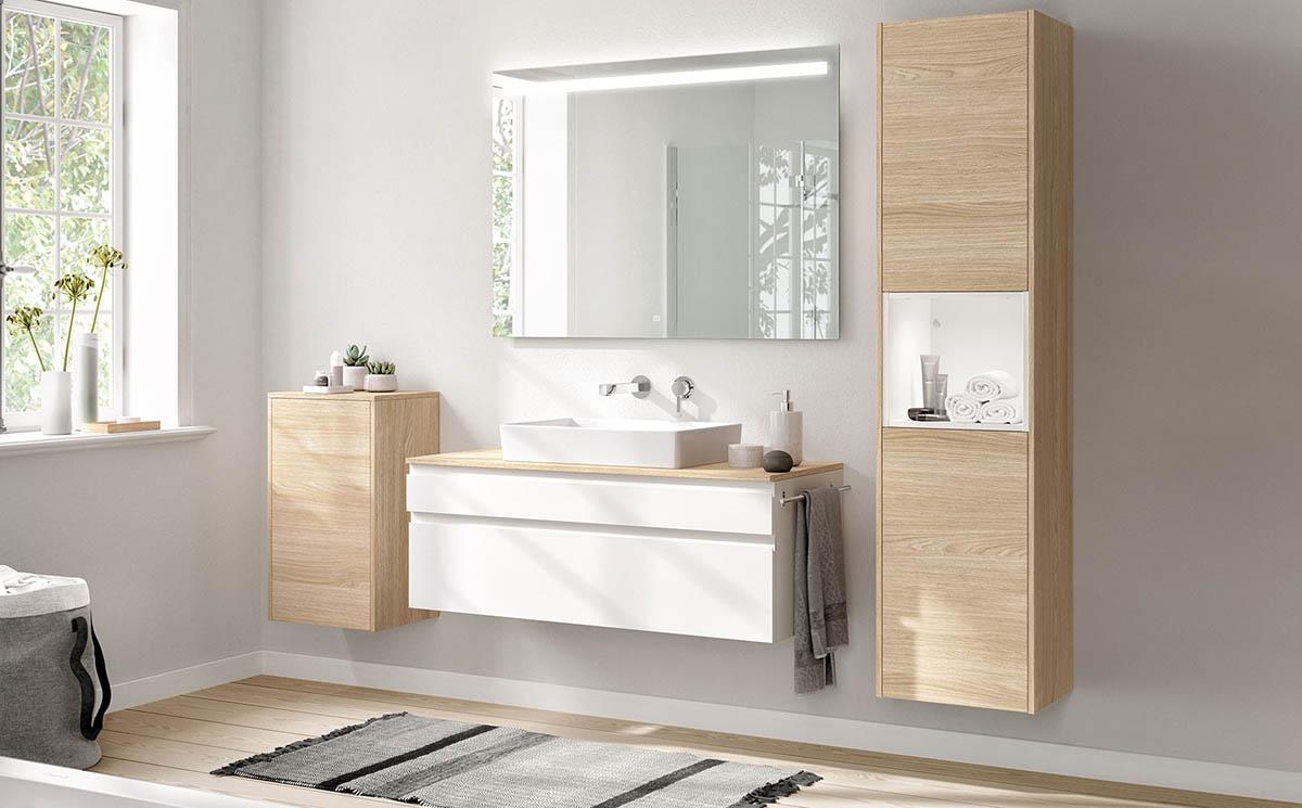 Salle de bain Linea-Bath par ECOCUISINE